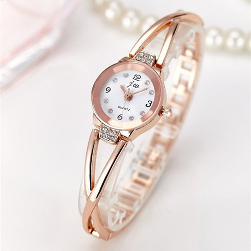 Watches women stainless steel quartz bracelet vivant beauty for Watches for women